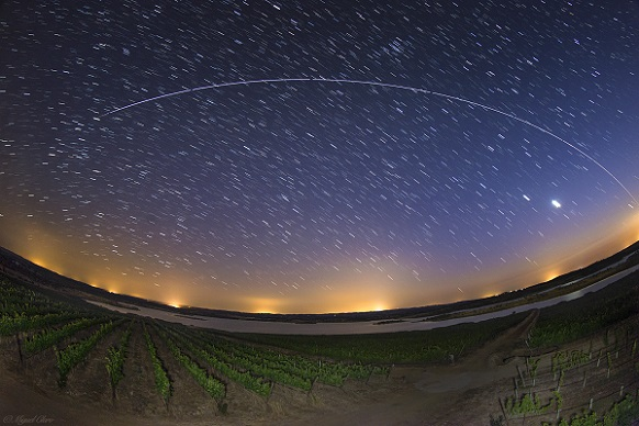 ISS from vineyard