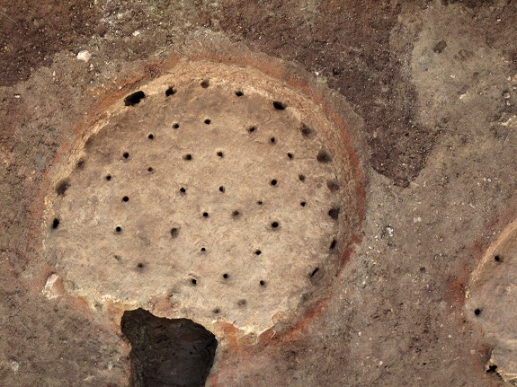 Pares Balta ancient ovens 1